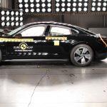 5 étoiles pour le Porsche Taycan à l'Euro NCAP