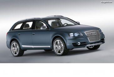 Audi allroad quattro concept de 2005