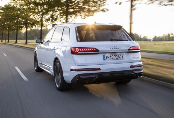 Audi Q7 TFSI e quattro - Deux versions de puissance (456 ch & 381 ch)