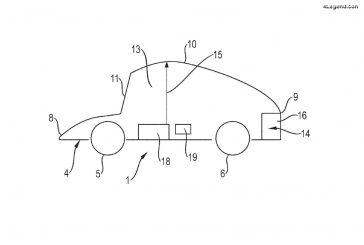 Un brevet Porsche de toit ajustable pour les voitures autonomes