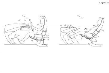 Porsche dépose des brevets pour des sièges adaptés à la conduite autonome