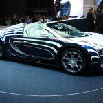 Bugatti Veyron Grand Sport «L'Or Blanc» de 2011 – Un modèle unique avec de la porcelaine