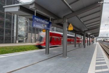 Inauguration de la nouvelle gare de train «Ingolstadt Audi»