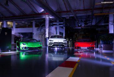 Lamborghini Christmas Drive 2019 : voyage avec l'Aventador SVJ, l'Huracán EVO et l'Urus