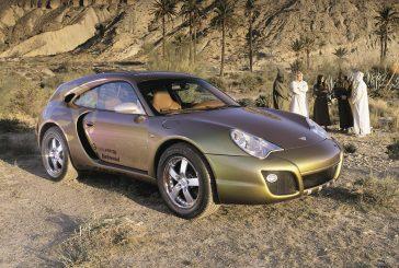 Rinspeed Bedouin de 2003 - Une Porsche 911 turbo modulable et offroad