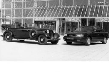 1932 - 1992 : 60 ans de progrès Audi malgré une histoire mouvementée