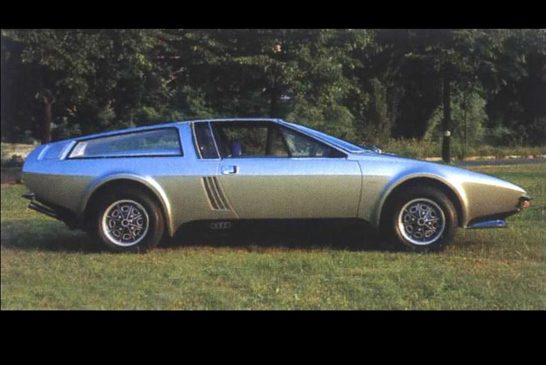 Audi Coupé Speciale Frua de 1973