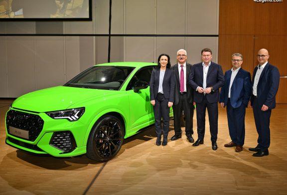 Réunion du personnel chez Audi : présentation des bases des dix prochaines années