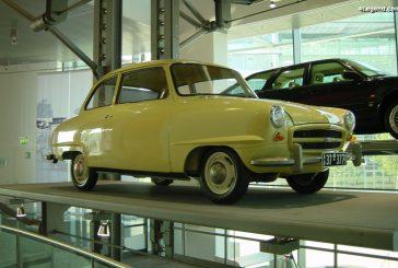 DKW STM III de 1956 - L'ultime prototype STM à carrosserie en plastique