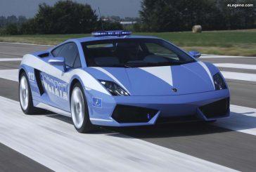 Lamborghini Gallardo Polizia - Des modèles offerts à la Police italienne