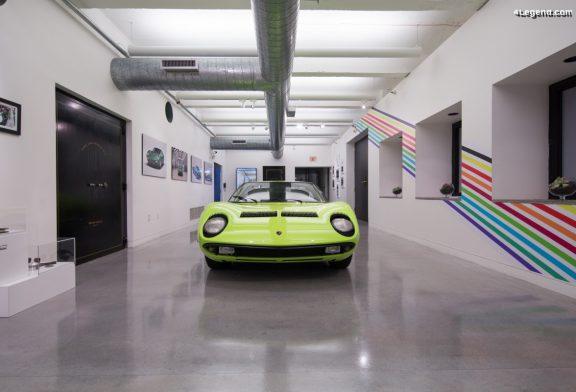 Lamborghini a exposé une Miura au Art Basel Miami Beach 2019