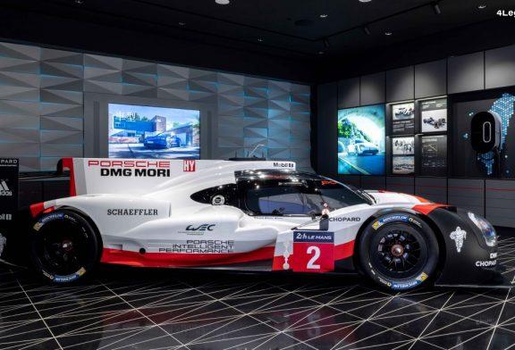 Ouverture d'un Porsche Studio à Taïwan