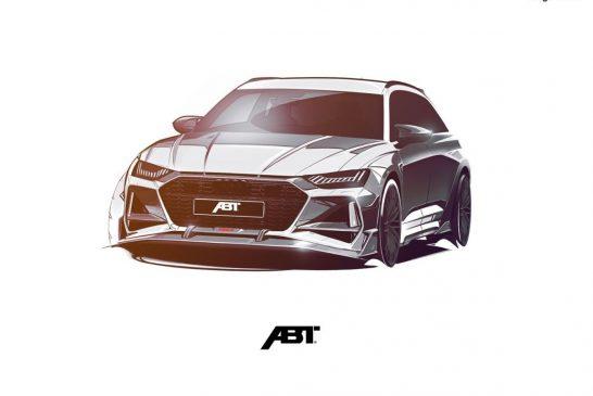 ABT RS6-R - Un monstre de 720 ch sur base d'Audi RS 6 Avant