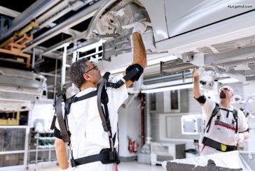 Audi teste en production des exosquelettes pour les tâches en hauteur