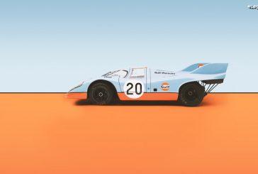 Top 5 des décorations colorées des Porsche 917