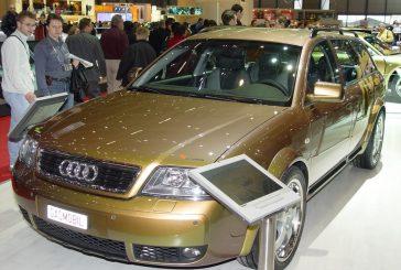 Audi allroad Rinspeed Gasmobil de 2003 - Adaptée pour rouler au gaz naturel