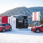 Des véhicules électriques et hybrides Audi au Forum économique mondial de Davos 2020