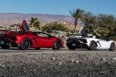Balade en Californie avec la Lamborghini Aventador SVJ Roadster