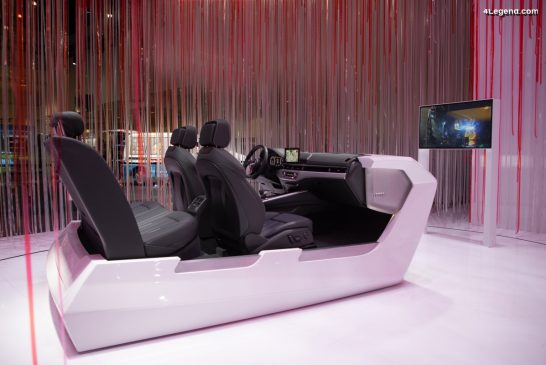 CES 2020 - Audi dévoile l'avenir de l'automobile entièrement électrique et intelligemment connecté