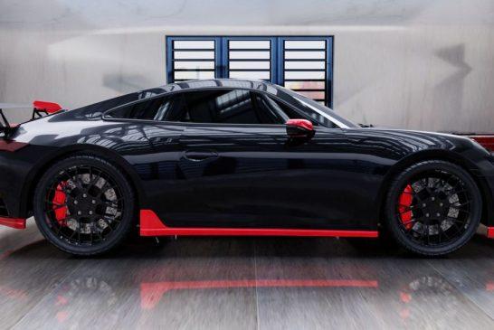Porsche 911 Aero Kit Emozione GT par DMC pour la 911 type 992