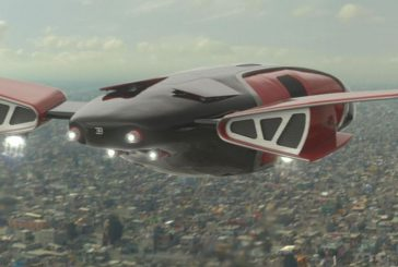 Une navette spatiale Bugatti dans le film Elysium