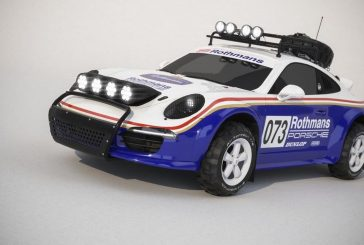 Porsche 911 Vanina - une 991 Dakar inspirée par la 953 de Jacky Ickx