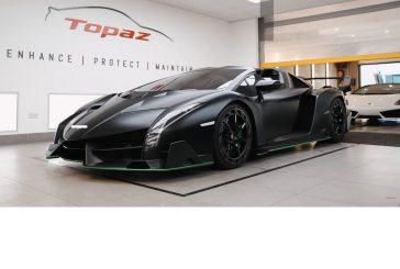 Lamborghini Veneno Roadster : un cauchemar pour un covering
