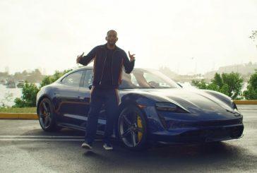 Will Smith fait le chauffeur Lyft au volant d'un Porsche Taycan Turbo S à Miami