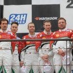 24H de Dubaï 2020 – Deux podiums et une victoire de catégorie pour Audi Sport