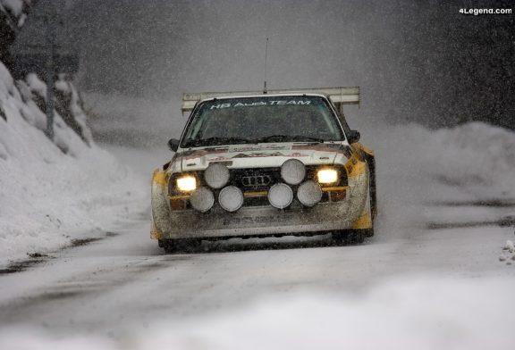 Audi Tradition célèbre les 40 ans de l'Ur-quattro