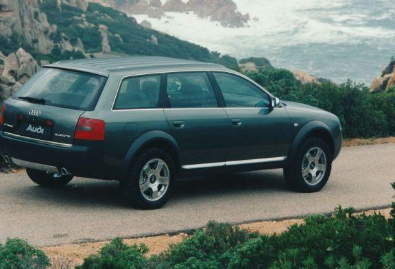 Audi allroad quattro concept de 1998 - La mère de toutes les allroad