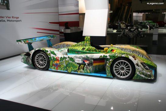 Audi R8 Crocodile de 2000 - Une décoration spéciale pour la finale de l'ALMS à Adelaïde