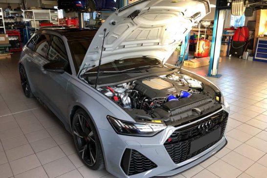 Nouvelle Audi RS 6 Avant C8 avec 786 ch & 1 061 Nm par HGP