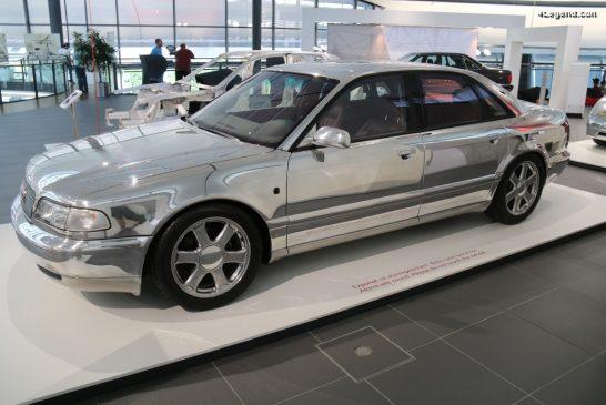 Audi ASF concept V8 TDI de 1993 - Présentation de l'Audi Space Frame