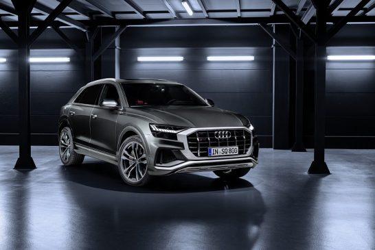 Un V8 biturbo essence de 500 ch pour les Audi SQ7 et SQ8 aux USA