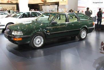 Audi V8 Avant de 1989 - Un modèle unique pour Ursula Piëch