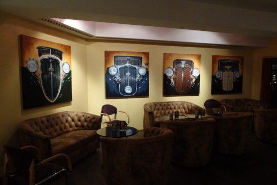 Bar Horch's - Un bar sur le Patrimoine Audi à l'hôtel Mercure de Chemnitz