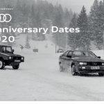 Dates anniversaire Audi en 2020