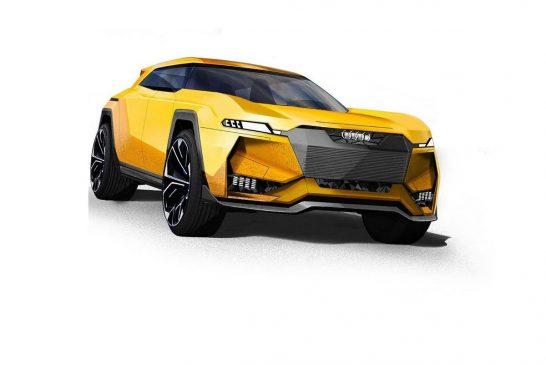 Une Audi Q5 futuriste dopée aux hormones de l'Ur-quattro