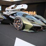 FAI 2020 – Détails de la Lamborghini Lambo V12 Vision Gran Turismo à Paris
