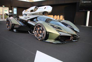 FAI 2020 - Détails de la Lamborghini Lambo V12 Vision Gran Turismo à Paris