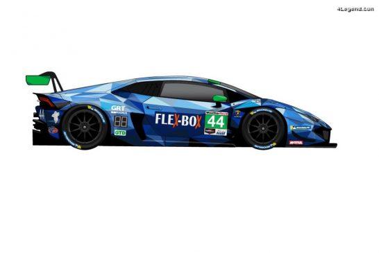 GRT Magnus dévoile la décoration 2020 de sa Lamborghini Huracán GT3 Evo n°44
