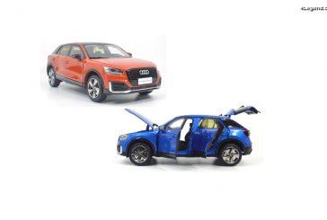 Miniature 1:18 - Audi Q2 L en 2 coloris par Paudi