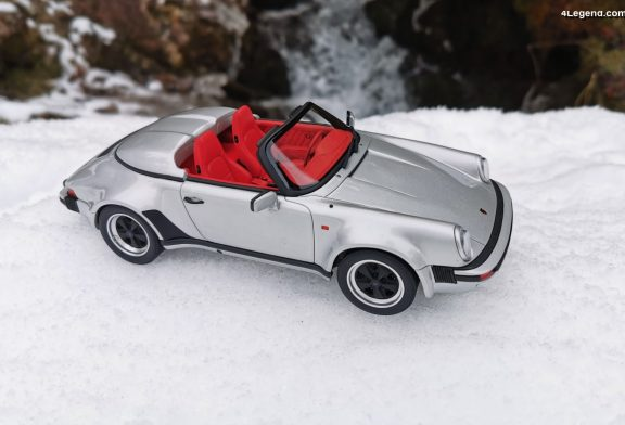 Miniature 1:18 - Porsche 911 Speedster 3.2 Turbo look de 1989 par GT Spirit