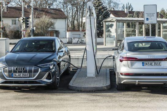 Audi investit environ 100 millions d'euros dans des infrastructures de recharge sur ses propres sites