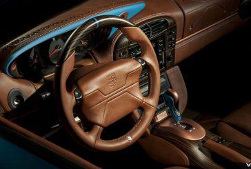 Porsche 911 Cabriolet type 996 par Vilner : un raffinement de cuir et de bois