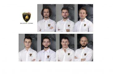 Présentation des pilotes officiels 2020 de la Lamborghini Squadra Corse