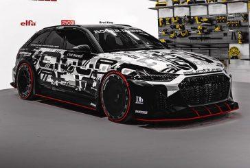 Nouvelle Audi RS 6 Avant C8