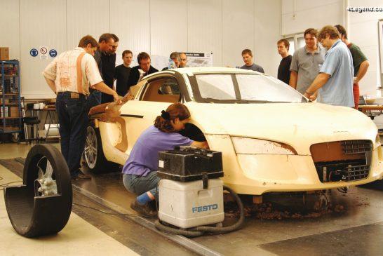 Audi Le Mans quattro de 2003 - Coulisses de sa conception