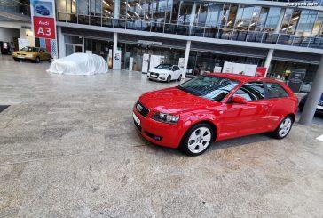 Exposition & rétrospective des Audi A3 à Ingolstadt pour le lancement de la nouvelle génération